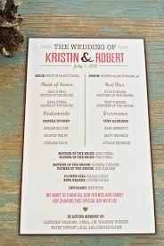 Wedding Program Creative Wedding Programs Wedding Programs Programming And