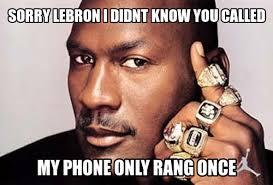 Michael Jordan Meme - michael jordan vs lebron james meme duels