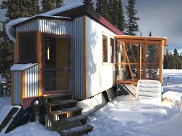 Little Houses For Sale A Tiny House For Sale On One Level Built To Handle Arctic Cold To