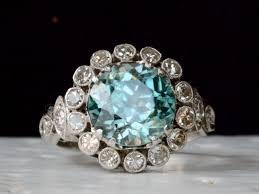 blue zircon rings images 1920s blue zircon diamond ring erie basin jpg