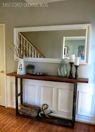 Decorating A Credenza 10 Sneaky Ways To Fake A Foyer Credenza East Coast And Consoles