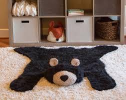 xl polar bear rug faux bear rug woodland nursery baby