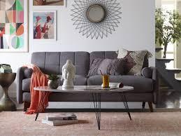 Mid Century Modern Furniture by Elle Decor Natalie Mid Century Modern Sofa U0026 Reviews Wayfair