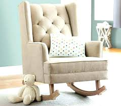 fabric rocking chair for nursery chair and a half glider rocker and ottoman for nursery upholstered rocking chair a half glider fabric rocking chair for
