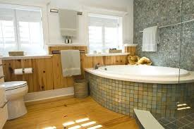 knotty pine bathroom cabinets master bath in contemporary bathroom