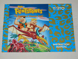 na fs some htf nes manuals in great condition flintstones