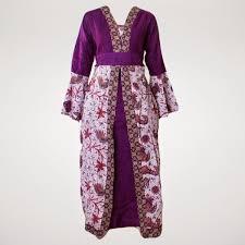 desain baju gamis hamil model baju hamil batik gamis terbaru 2015