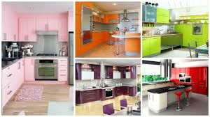 14 ideas for modern colorful kitchen décor