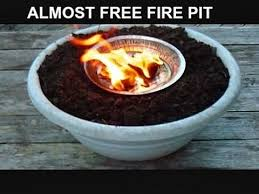 Diy Firepit Table Diy Pit Table Top Pit Survival Cooking Outdoor