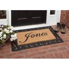 Coir And Rubber Doormat Door Mats