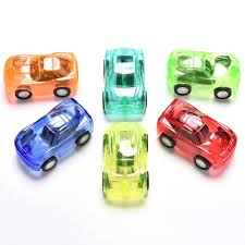 Gifts For Kids Under 10 Best New Arrival Pull Back Car Candy Colors Plastic Cute Toy Cars