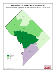 Dc State Map by Census 2010 News U S Census Bureau Delivers District Of