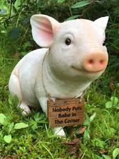 ornaments figurines pig collectables ebay