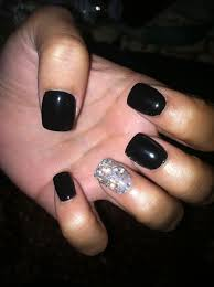 french tip acrylic nails glitter http www mycutenails xyz