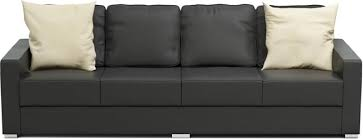 Storage Sofas Sofas With Storage Underneath Nabru - 4 seat leather sofa