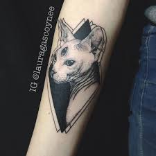 trippy cat tattoo pictures to pin on pinterest tattooskid