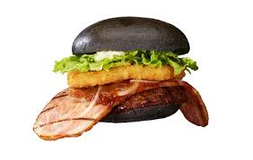 black burger burger king japan s new kuro with a big