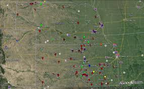 Map Of Ks Past Summaries Of Results For Animals Suspected Having Rabies