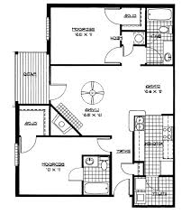 House Plans 2 Bedroom Home Design 2 Bedroom House Plans Designs 3d Small Throughout 93