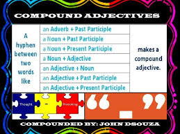 compound adjectives worksheets with answers worksheets