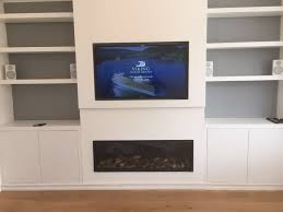 television over fireplace av joinery thornwood fireplaces