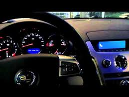 how to program your bluetooth equipped cadillac cts