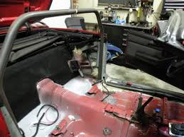 1969 camaro roll cage installing a roll cage in a convertible f camaro firebird
