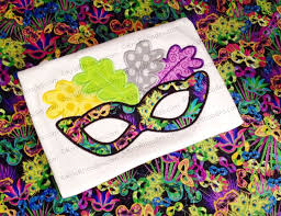 mardi gras masks for sale mardi gras mask 1 applique embroidery design