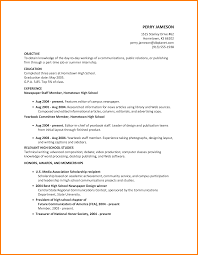 photography resume objective resume summer job free resume example and writing download editorial examples for highschool students resume objective examples for high