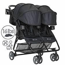 amazon black friday stroller amazon com zoe umbrella xl2 double stroller deluxe black baby