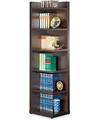 Bookcase Furniture Amazon Com Furniture Of America Bassey 5 Shelf Bookcase Display