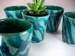 exterior home turquoise planters homemade salt and pepper shakers