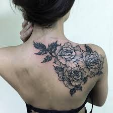 back shoulder tattoos shoulder