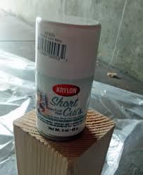 Krylon Short Cuts Spray Paint - visual experiments testing pinterest tutorials and tips u2013 proof