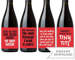 wine christmas gifts best 25 christmas wine bottle labels ideas on wine