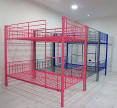 Double Deck Bed Designs Pink Online Sale Latest Metal Bed Design Metal Bunk Bed From