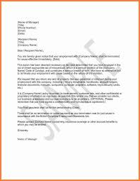 letter termination sample invoice example print your business