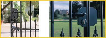 swing gate lock ornamental style locinox brand