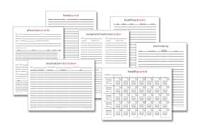 free printables health journal physician inventory more life