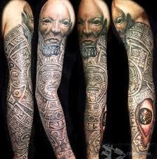 25 unique aztec tattoos sleeve ideas on pinterest aztec tattoo
