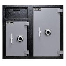 mesa 1 7 cu ft all steel burglary and fire safe with electronic