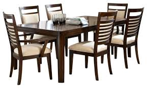 7 pc dining room set standard furniture avion 7 dining room set in cherry