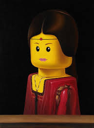 lego art inspired by world famous paintings from warhol to kahlo