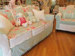 shabby chic sofa covers custom shabby chic slipcovers vintage chic furniture shabby sofa