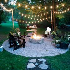 Backyard Firepits Diy Pit Cheap Paver Patio With Plan Build Your Own