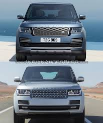 land rover 2018 2018 range rover vs 2013 range rover front indian autos blog