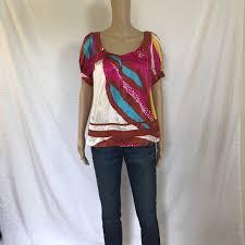 77 off diane von furstenberg tops gorgeous dvf silk blouse