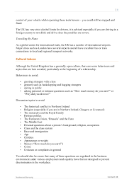 Medical Front Office Resume British Business Culture Guide Learn About The Uk