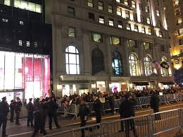 nyc anti trump protests enter third day 100s blocked from