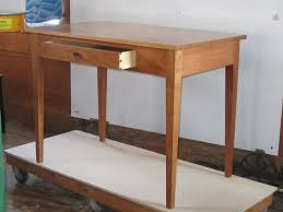simple desk plans hand crafted writing desk by foster custom furniture custommade com